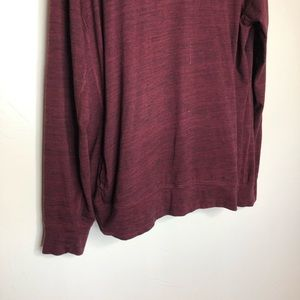 American Eagle Outfitters Shirts - Men's American Eagle Maroon Hoodie Shirt